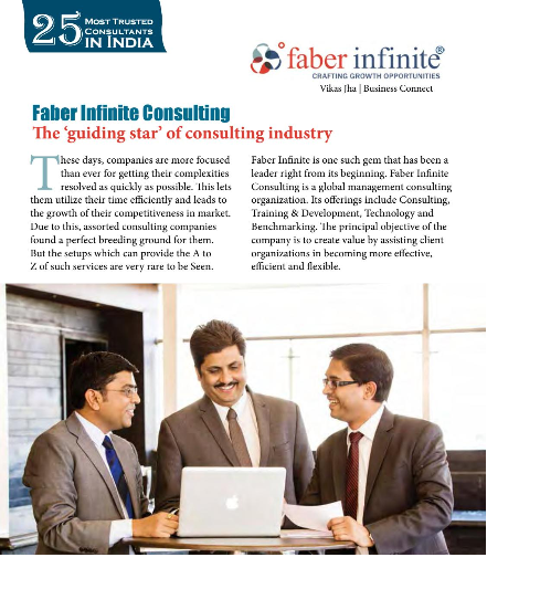Faber Infinite covered by Business Connect Magazine